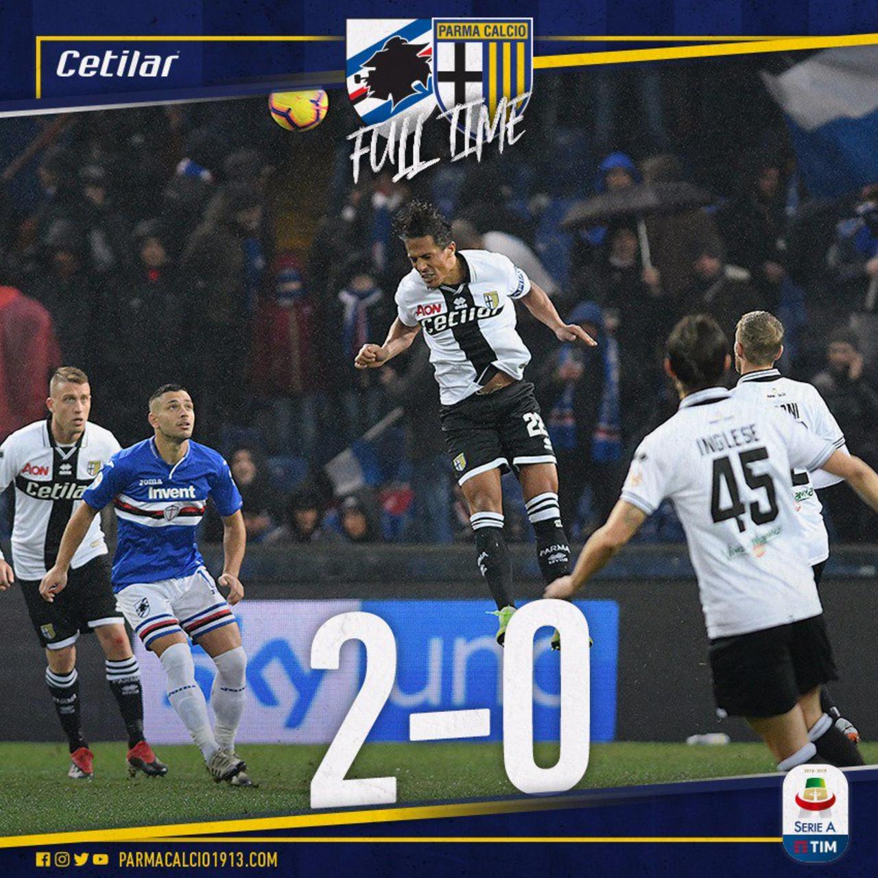 Sampdoria-Parma 2-0: le voci dei protagonisti