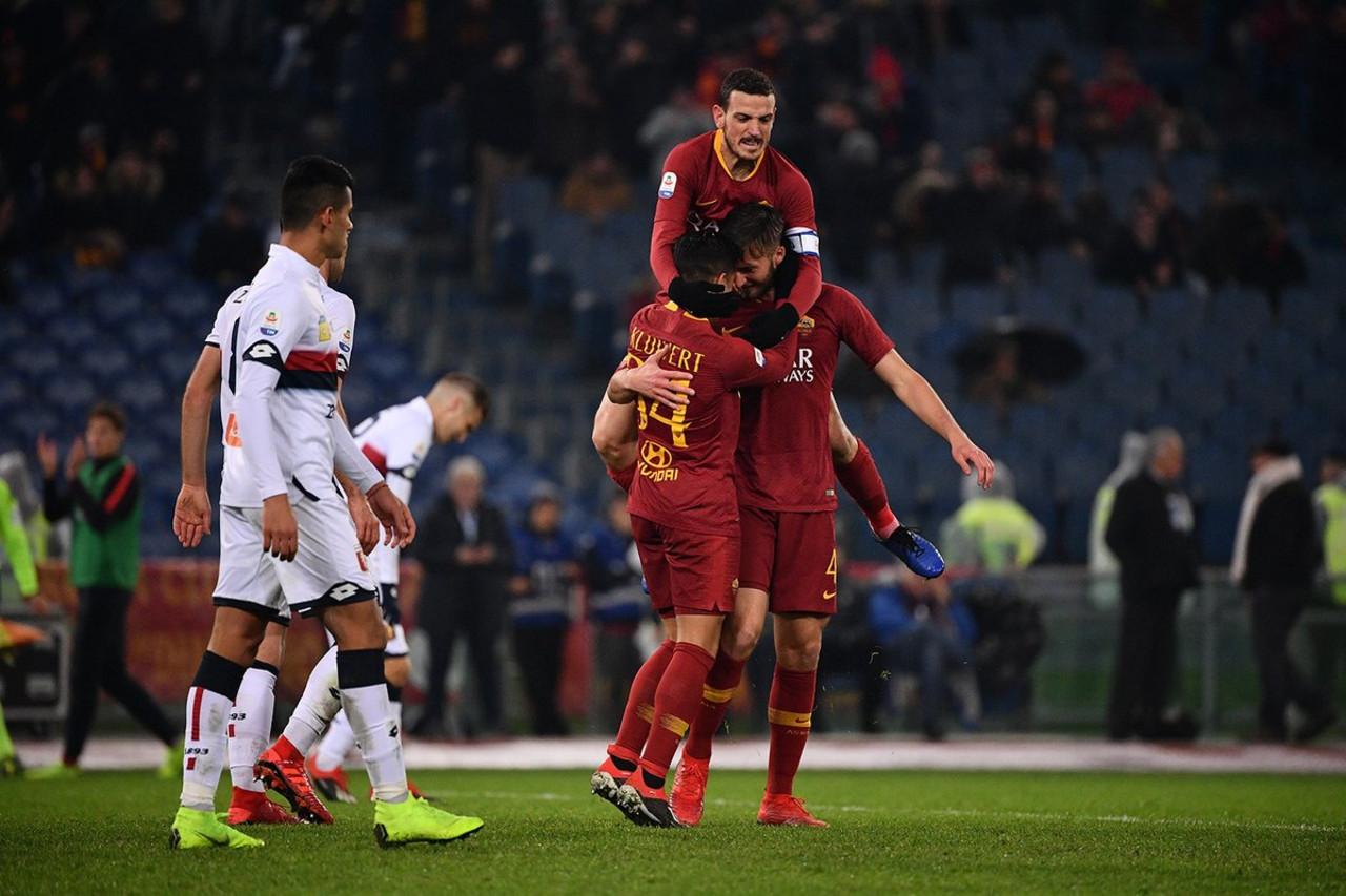 Roma: sorteggio di Champions agevole ma con il Genoa ancora poche certezze