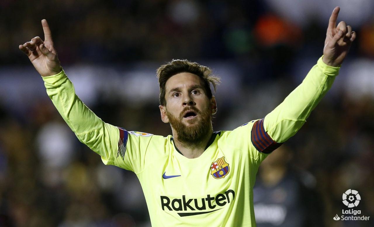 Liga - One man show di Messi, vincono anche Atletico e Real Madrid