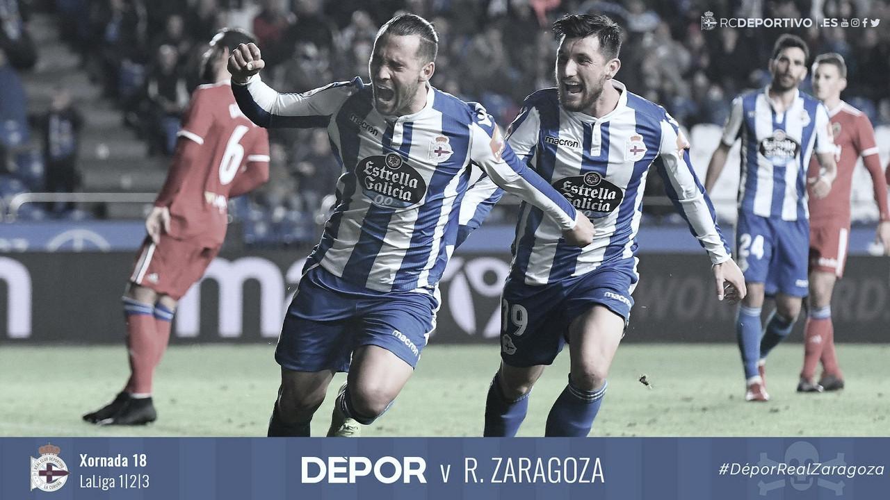 El Deportivo gana por inercia