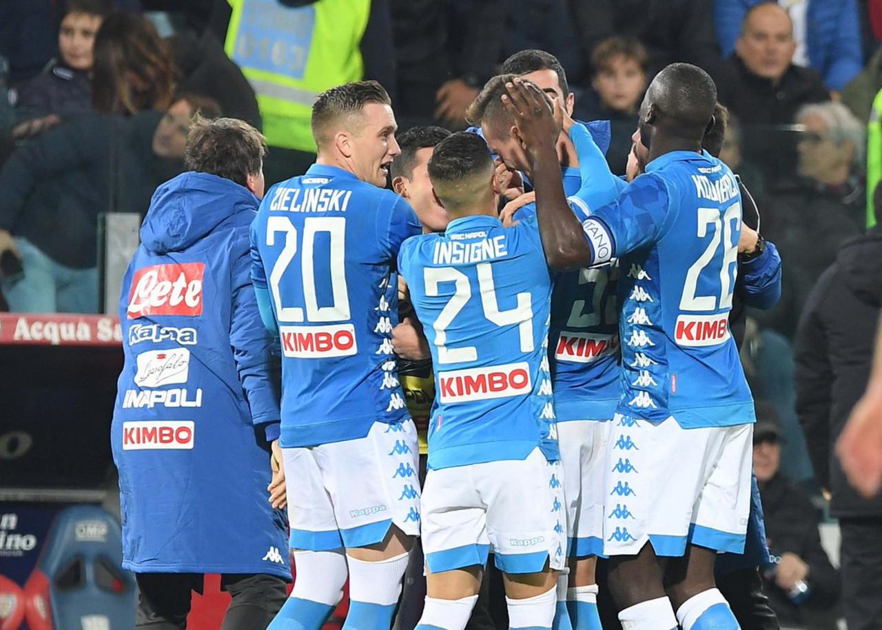 Napoli: Ancelotti ha un attacco forte per tentare l'assalto allo Scudetto