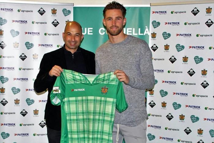Leon de Kogel, nuevo jugador del Cornellà