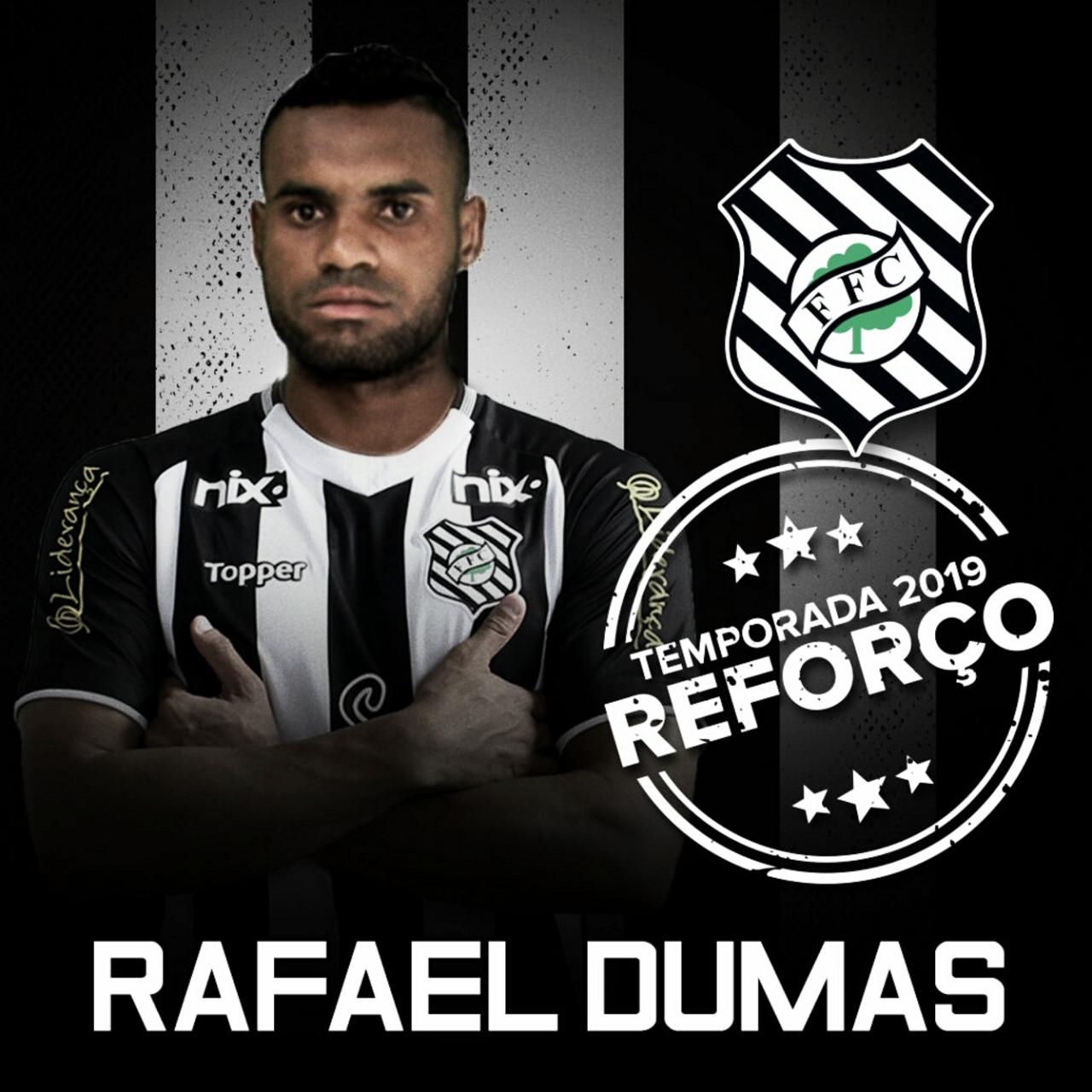Figueirense anuncia contratação do zagueiro Rafael Dumas, ex-Brasil de Pelotas
