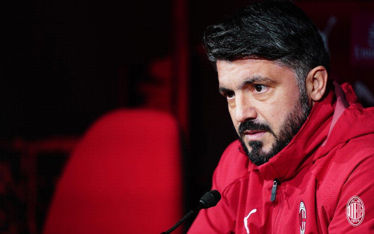 """Milan, parla Gattuso: """"Non mi interessa come, ma voglio vincere"""""""