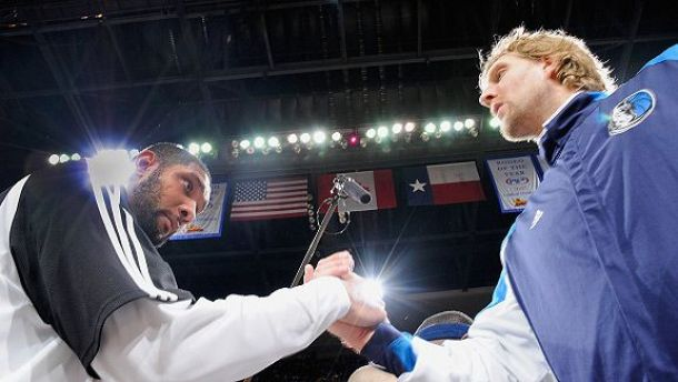 Future Hall Of Famers Dirk Nowitzki, Tim Duncan Are Two Of A Kind