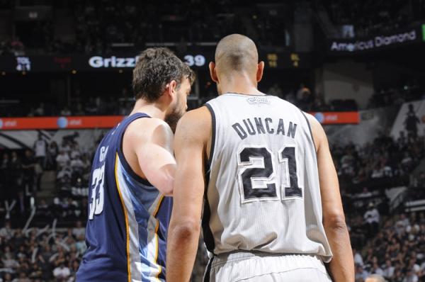 Spurs vence Grizzlies no primeiro jogo das finais da conferência oeste