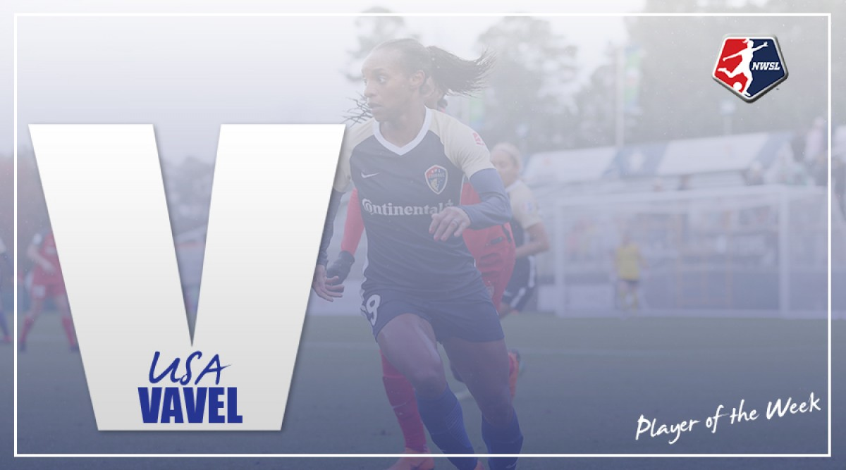 Crystal Dunn scores a brace for her second Player of the Week honors