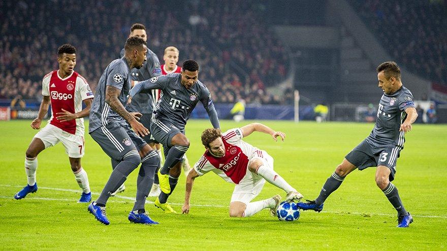 Champions League - brivido Bayern Monaco: contro l'Ajax finisce 3-3!