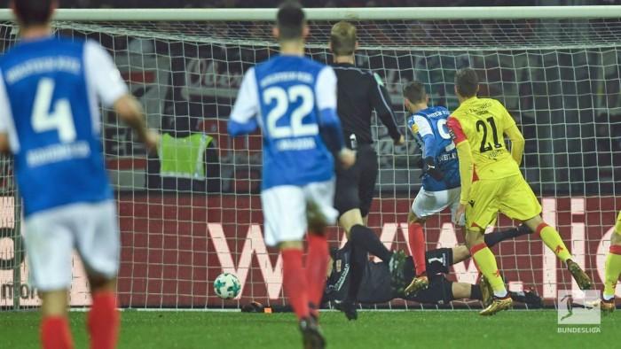 Holstein Kiel 2-2 1. FC Union Berlin: Storks denied by late Sebastian Polter penalty