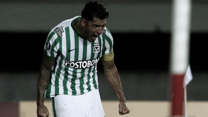 Jefferson Duque, el jugador destacado de Atlético Nacional ante Universidad Católica