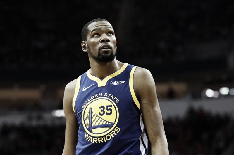 Kevin Durant rejeita opção contratual com Golden State Warriors e se torna free agent