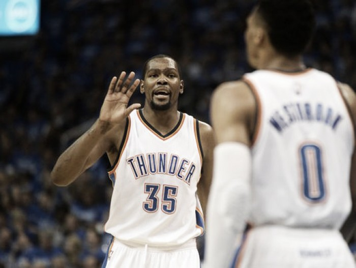 Final: Live Commentary from the Oklahoma City Thunder's 108-102 Game 1 victory over Golden State Warriors