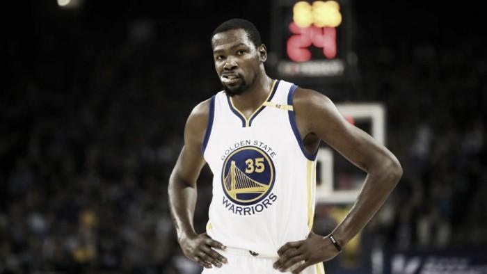 NBA Playoffs 2017: Durant in dubbio per gara-2 con Portland