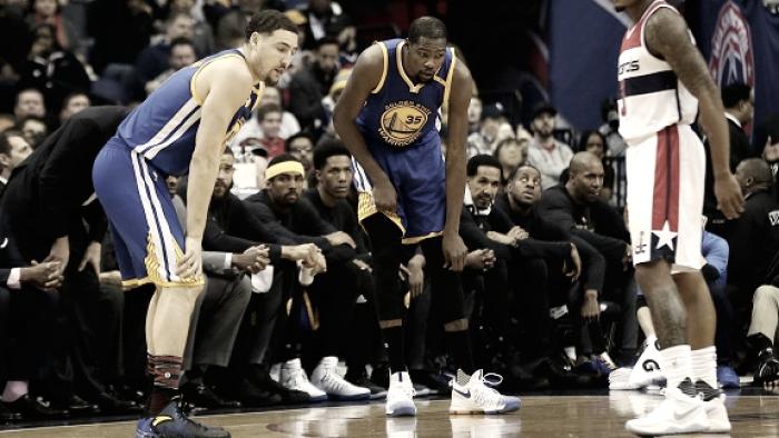 NBA - Golden State, il comunicato ufficiale sull'infortunio di Durant