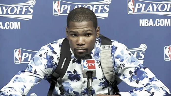 """Kevin Durant: """"A la prensa no le gustan los Thunder"""""""