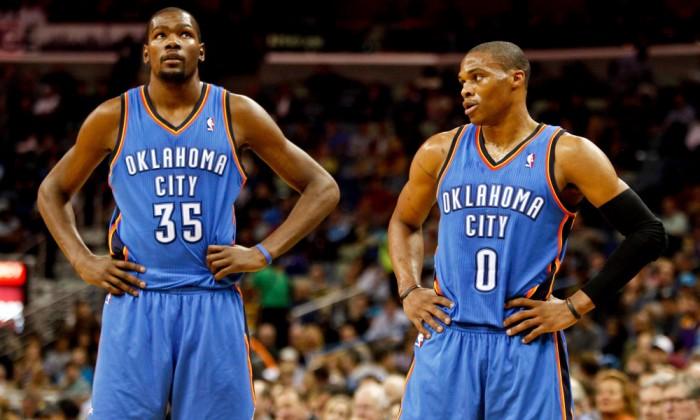 NBA, le colpe dei Thunder: l'ego di Russ e KD