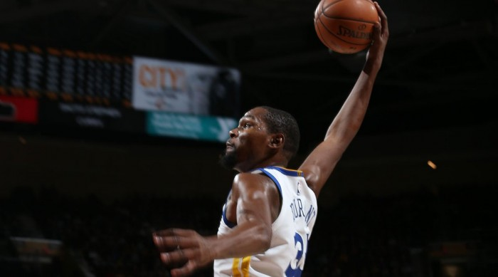 NBA - Durant trascina Golden State, Cleveland si inchina ancora