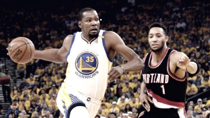NBA Playoffs 2017 - Golden State Warriors: Durant smania, ma potrebbe saltare anche gara-3