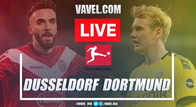 Goals And Full Highlights: Fortuna Dusseldorf 0-1 Borussia Dortmund In Bundesliga Matchday 31