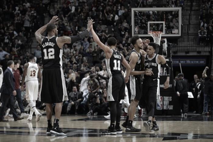 Spurs 'ofuscam' feito de LeBron James e batem Cavaliers