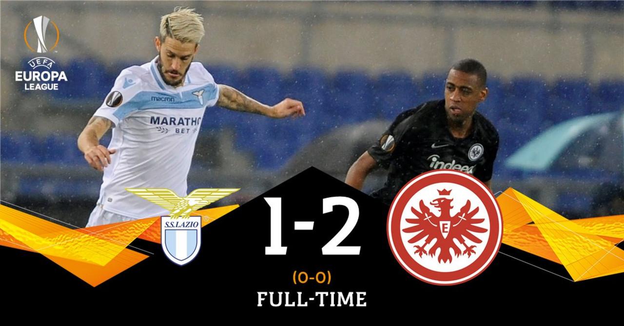 Europa League- Lazio sconfitta dal Francoforte 2-1