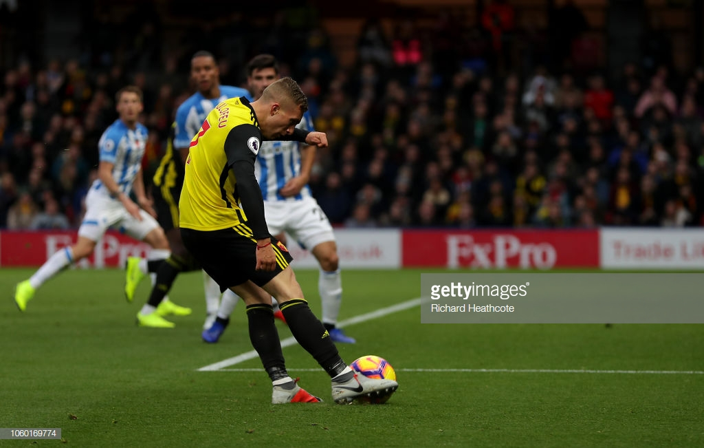 Watford 3-0 Huddersfield Town: Hornets ensure Terriers remain winless