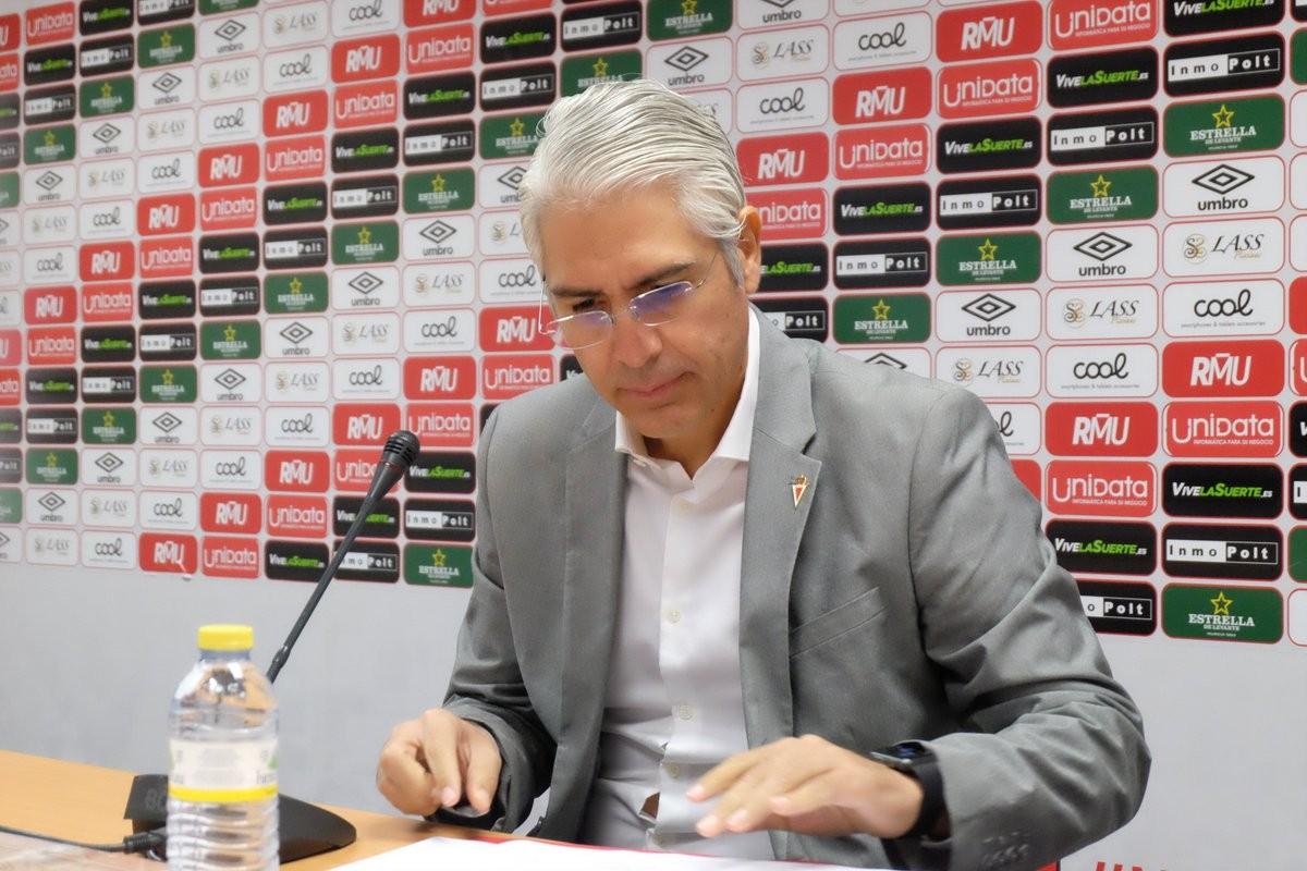 Mauricio García de la Vega compra el Real Murcia