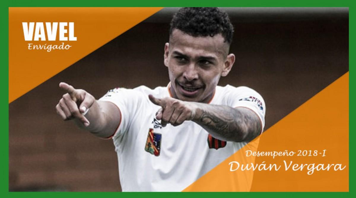 Análisis Envigado F.C. 2018-I: Duván Vergara