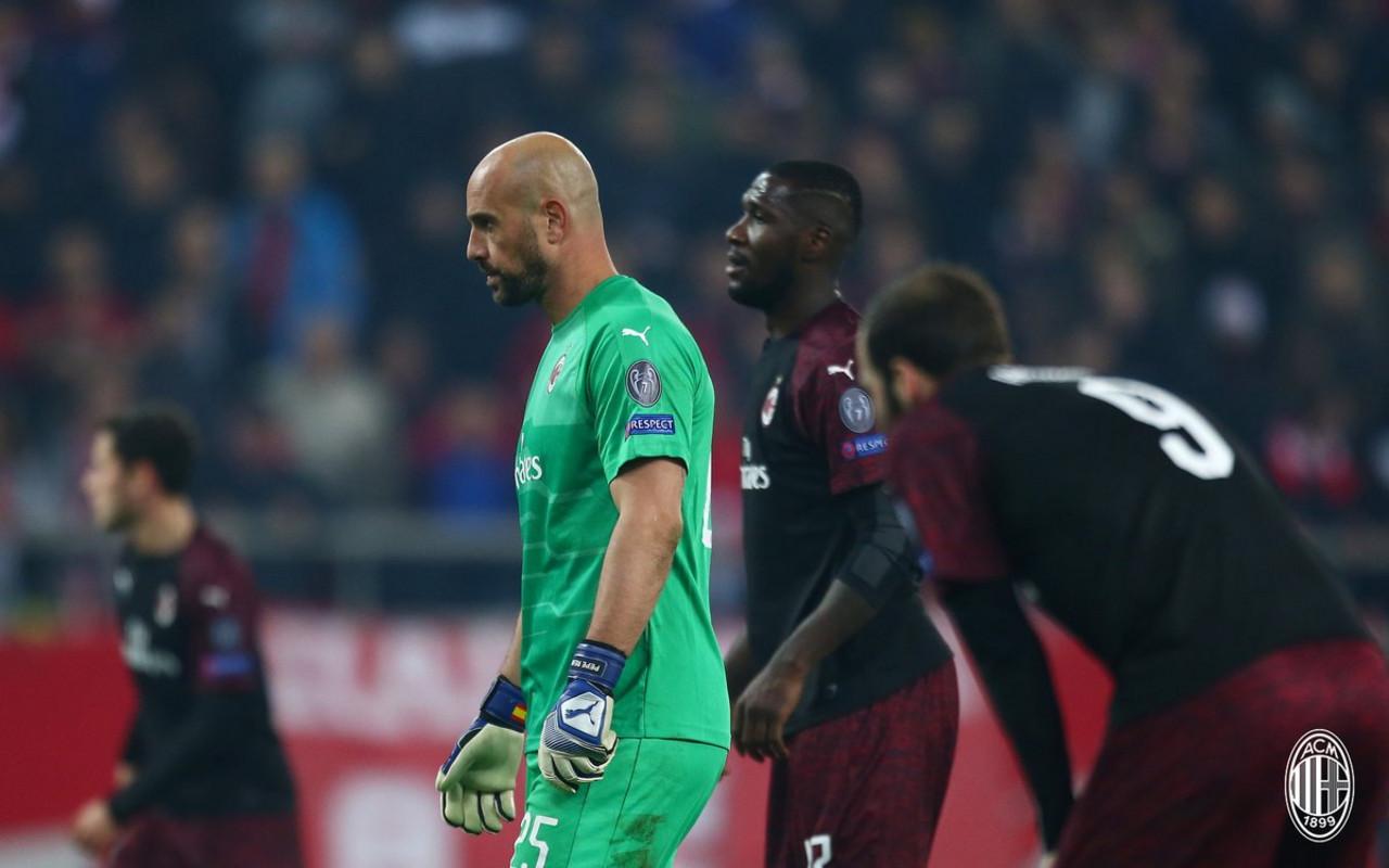 Europa League - Milan, una vera e propria figuraccia