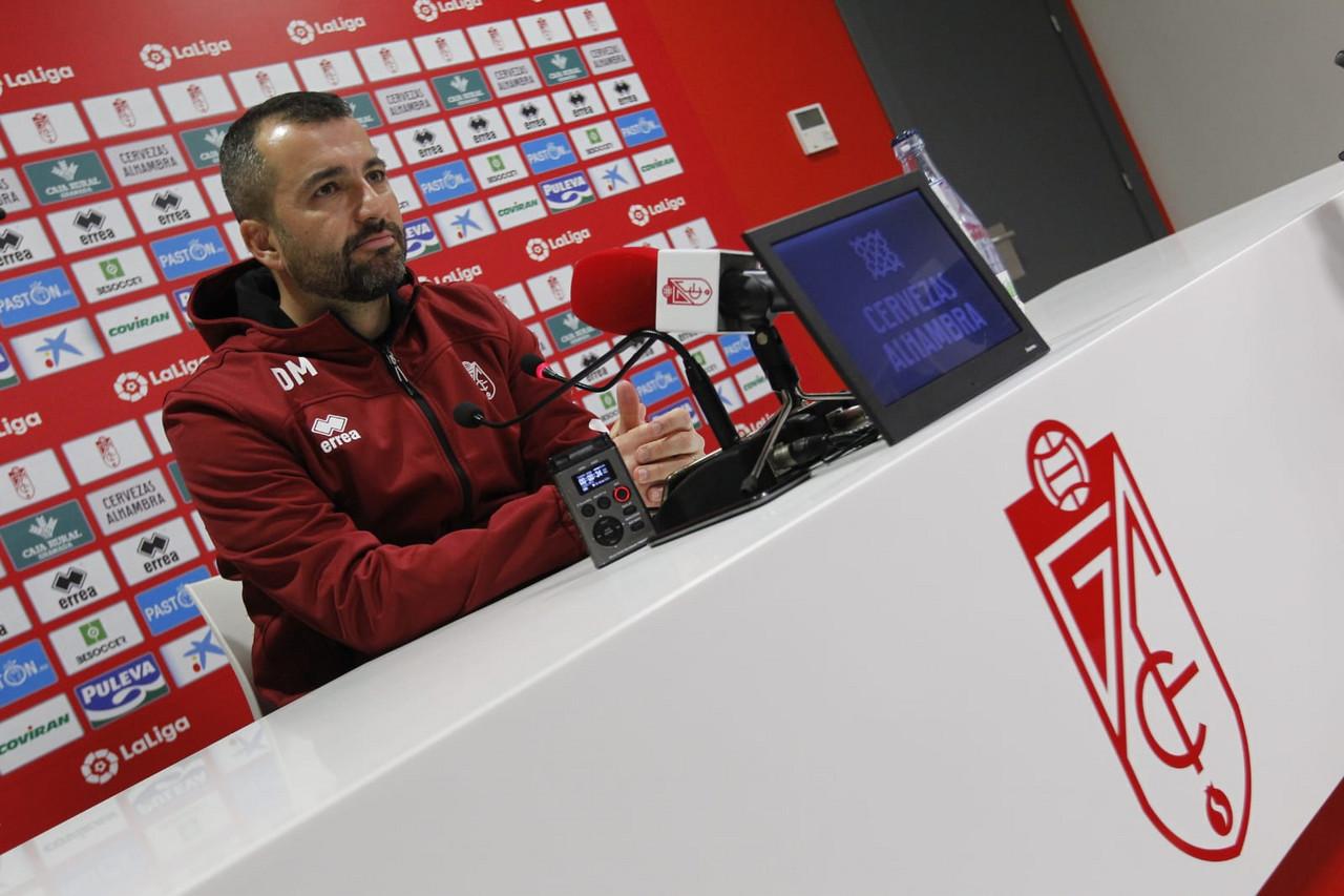 """Diego Martínez: """"Nuestra única posibilidad de ganar es ir al límite"""""""