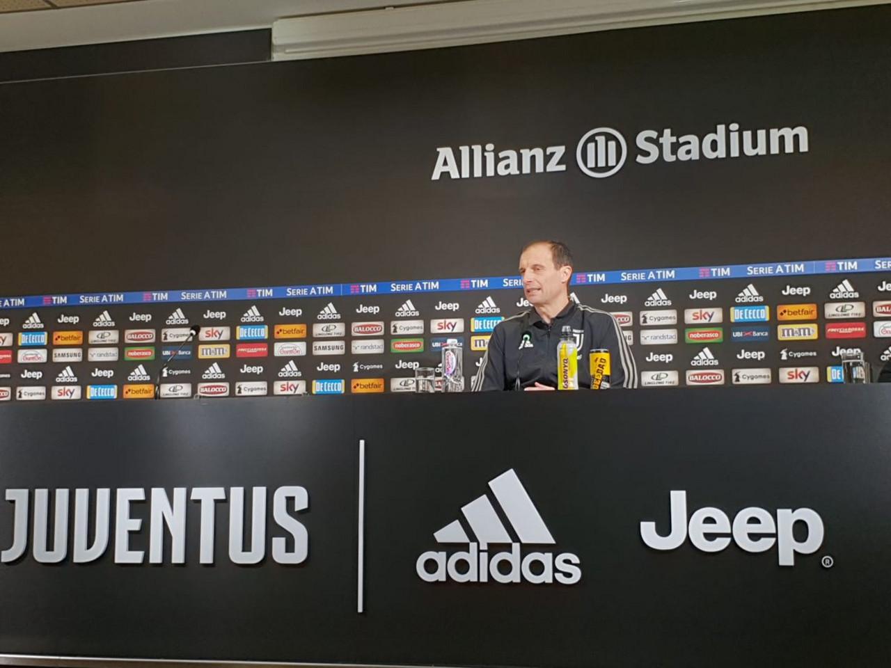 """Juventus, Allegri in conferenza: """"Cancelo dovrà essere operato. Forse anche Cuadrado"""""""