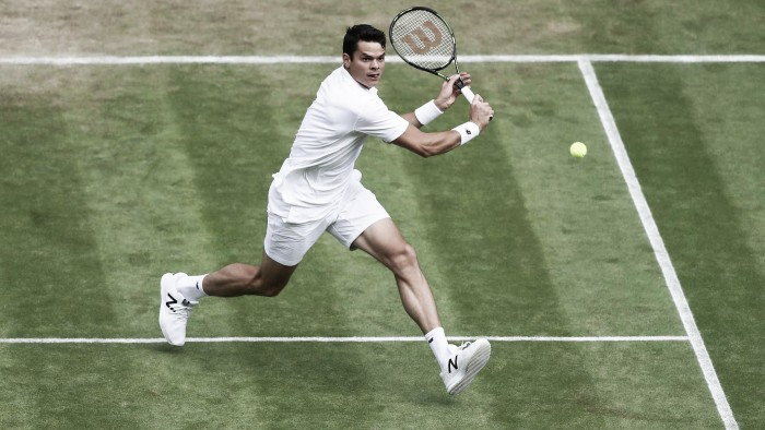 Raonic hails McEnroe influence ahead of Wimbledon semi-final