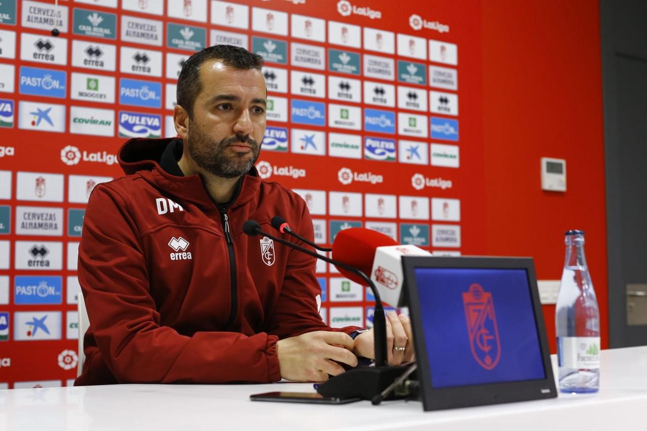 """Diego Martínez: """"Tenemos una gran actitud, un equipo en mayúsculas"""""""