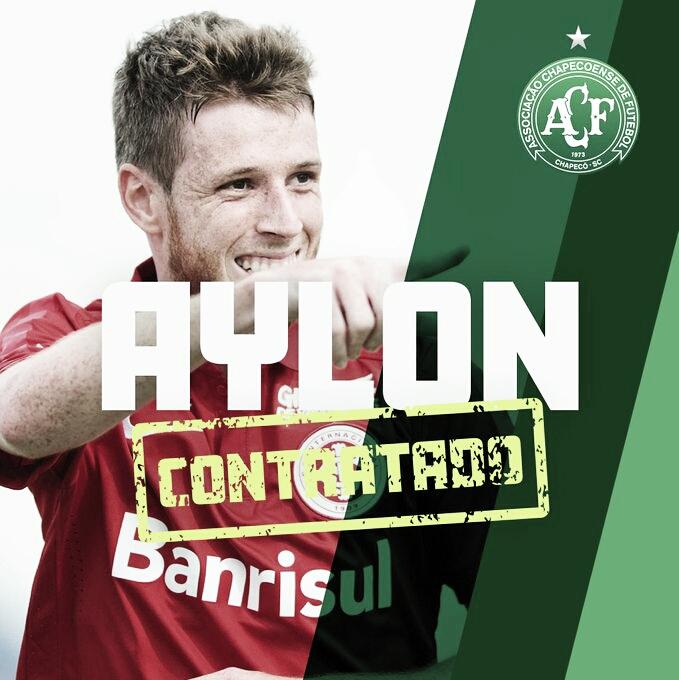 Chapecoense anuncia contratações de Aylon, ex América-MG, e Joílson, ex-Oeste