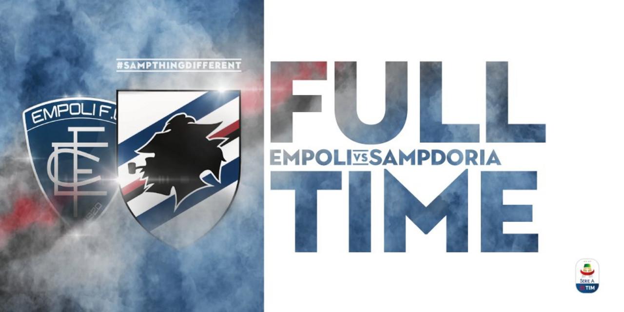 Serie A- La noia ad Empoli non esiste. Vince la Sampdoria 4-2