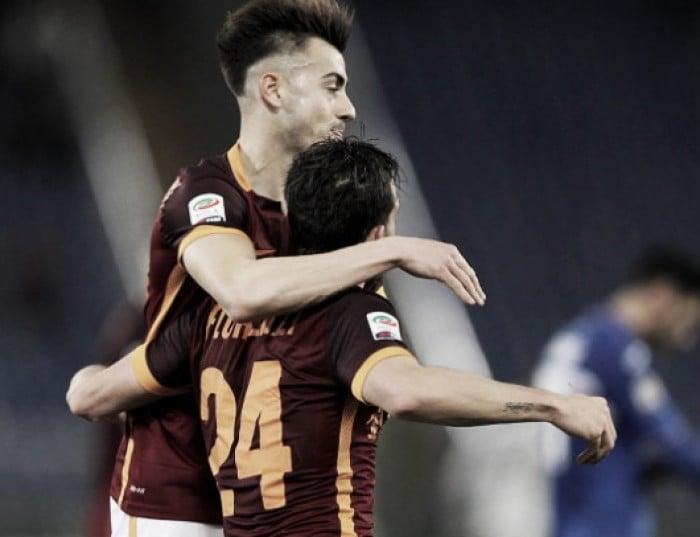 Roma 2-1 Sampdoria: Perotti opens account as Samp's problems mount