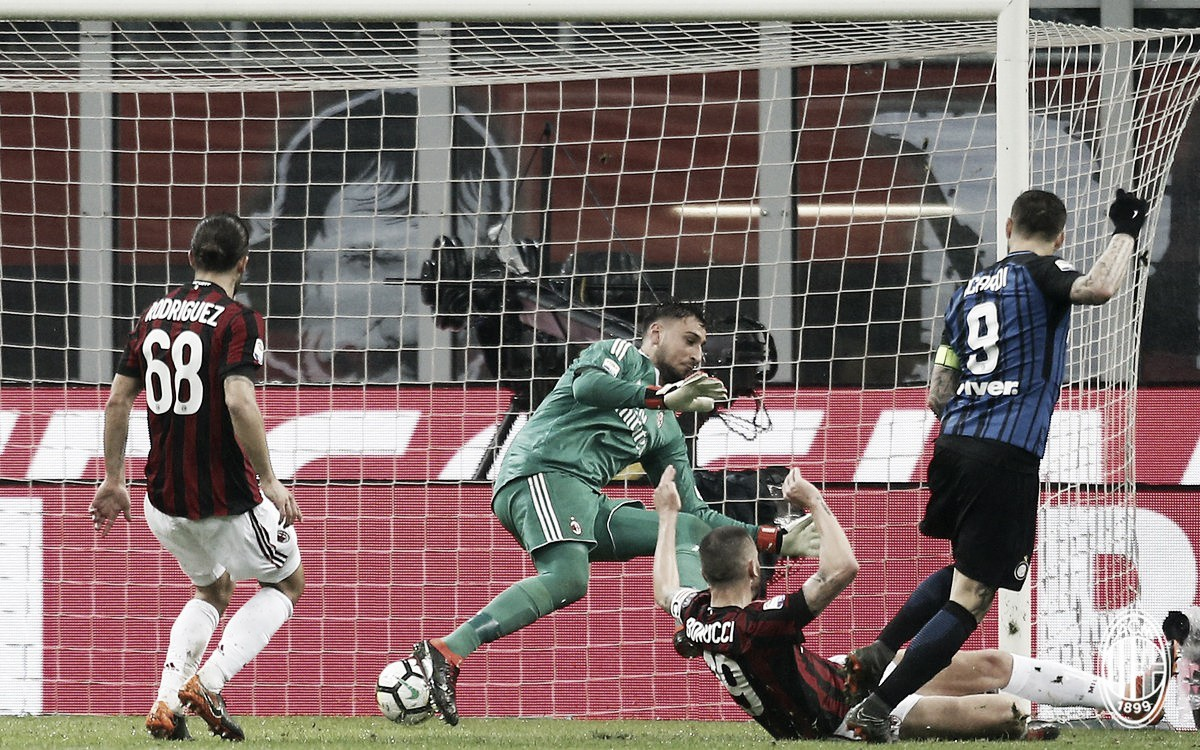 Em dia ruim de Icardi, Milan e Inter não saem do zero em jogo atrasado da Serie A