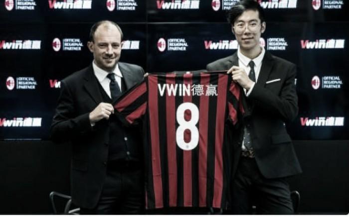 Milan anuncia novo patrocinador para expandir a marca no mercado asiático