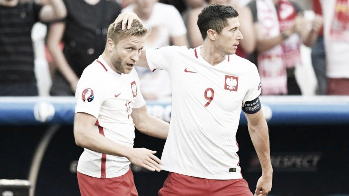 Lewandowski y Blaszczykowski son los jugadores con más partidos con Polonia