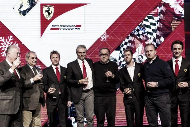 """F1, Ferrari chiude la stagione con il Pranzo della Gestione Sportiva. Marchionne: """"Vera battaglia nel 2016"""""""