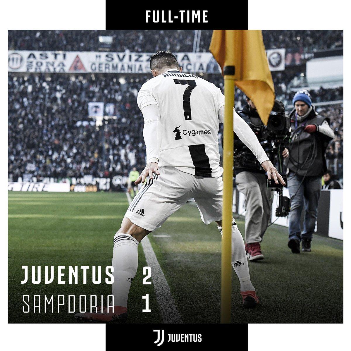 Serie A- Ronaldo decide di vincerla da solo, ma la Samp esce a testa altissima 2-1