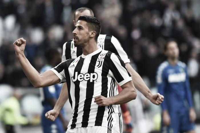 Higuain fa tripletta e la Juventus annichilisce il Sassuolo: 7-0 all'Allianz Stadium