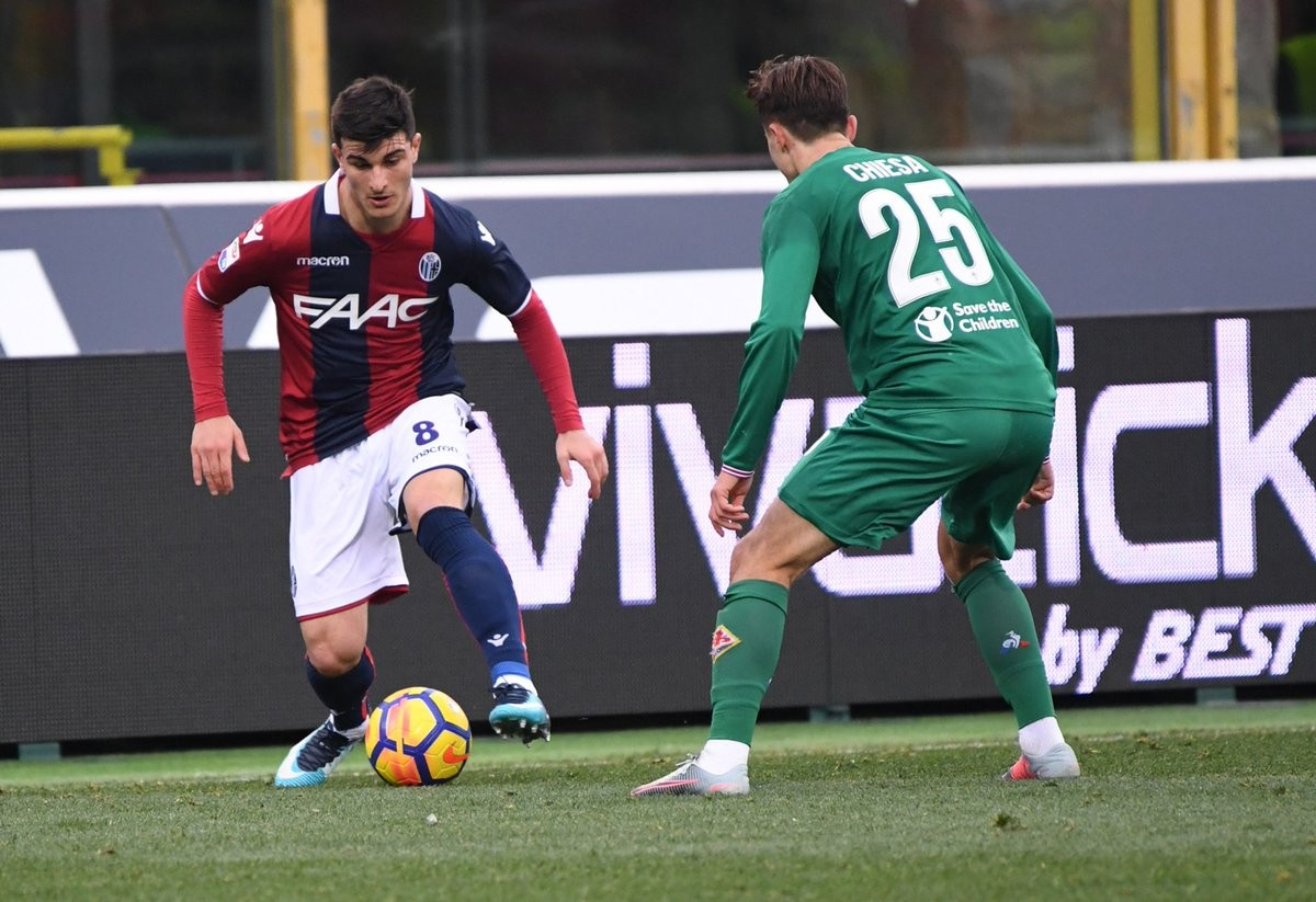 Bologna - Verdi è in gruppo, ma si ferma Orsolini