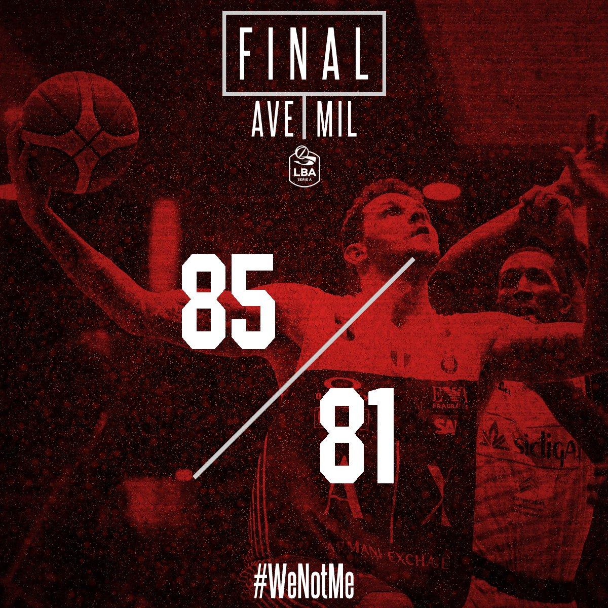 Legabasket - Un super Sykes guida Avellino alla vittoria contro Milano (85-81)