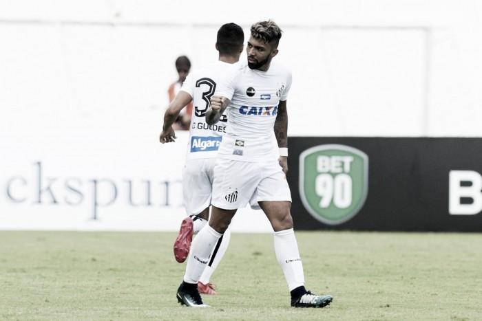 Gabigol marca na sua reestreia e Santos fica no empate com Ferroviária