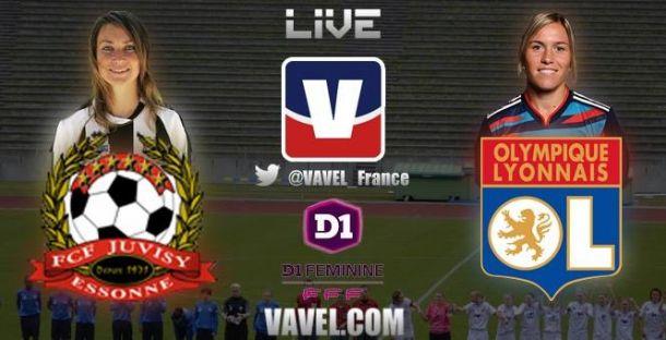 Live Juvisy - Lyon (D1 féminine), le match en direct