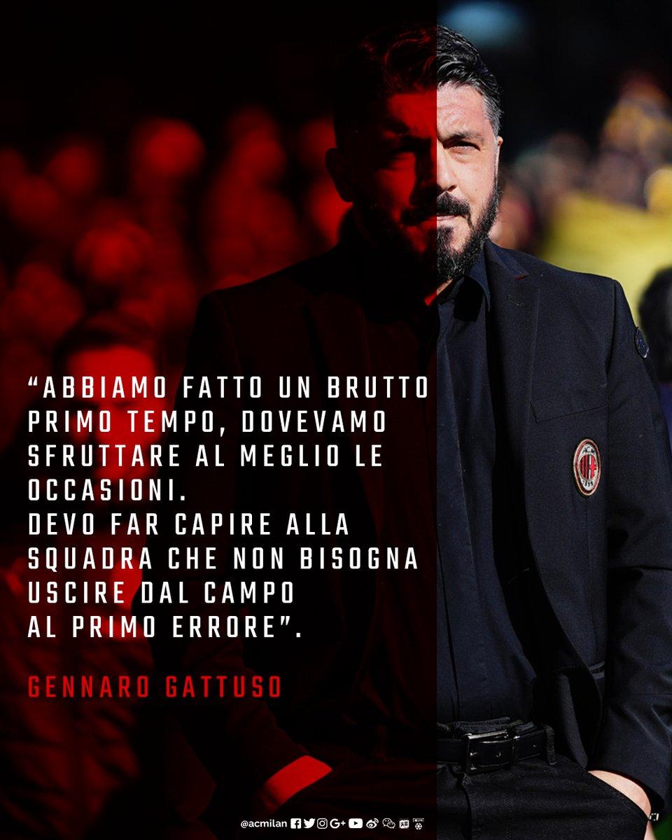 """Milan, senti Gattuso: """"Ora c'è troppo pessimismo"""""""