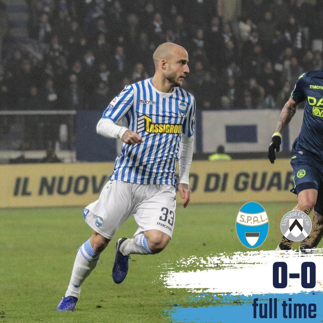 Serie A - SPAL e Udinese decidono di non farsi male (0-0)