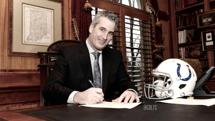 Frank Reich es el nuevo entrenador de los Colts