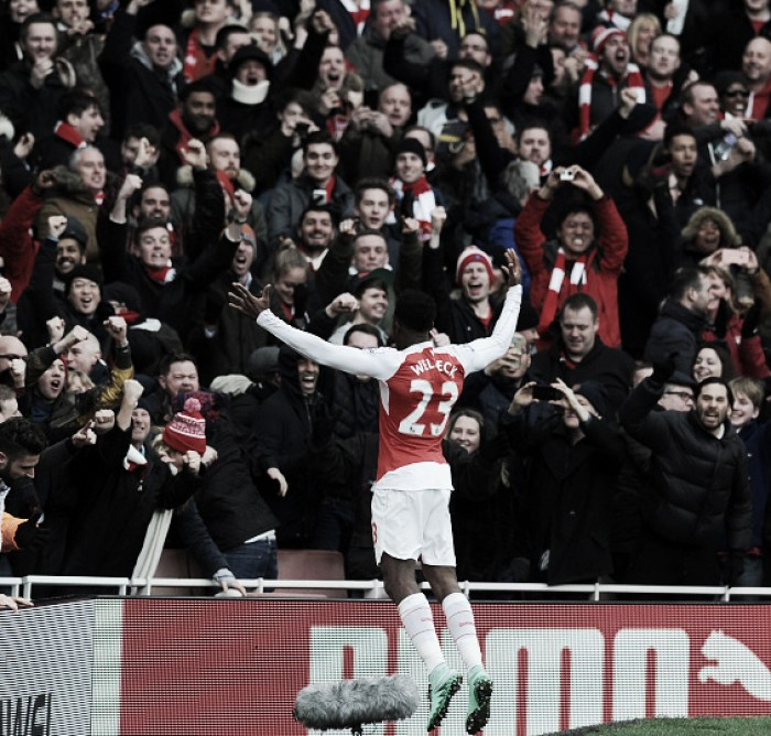 Post-match news: Walcott and Welbeck on how Leicester result could be 'turning point' for Arsenal